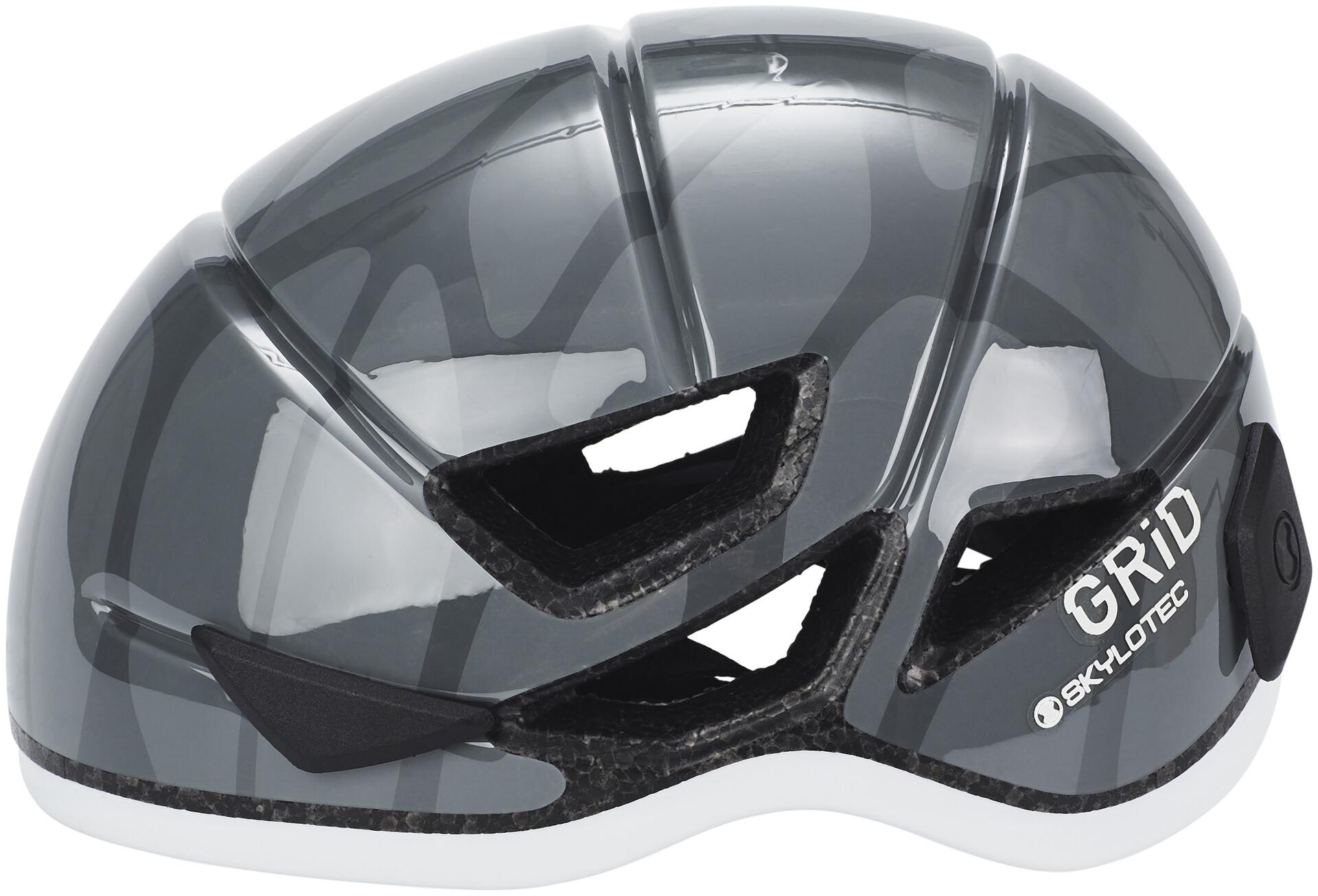 Skylotec Klettergurt Mammut : Skylotec grid vent helmet grey campz